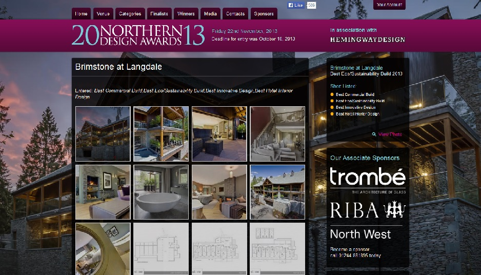 northern design award entry
